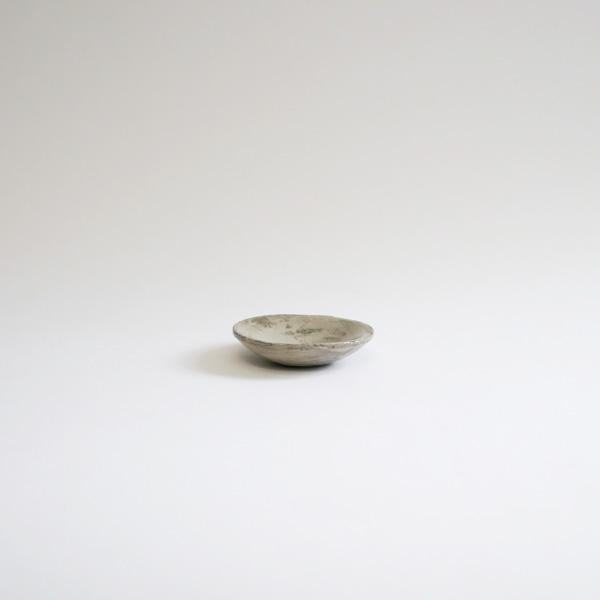 馬場勝文 刷毛目鬼豆皿φ6.5cm