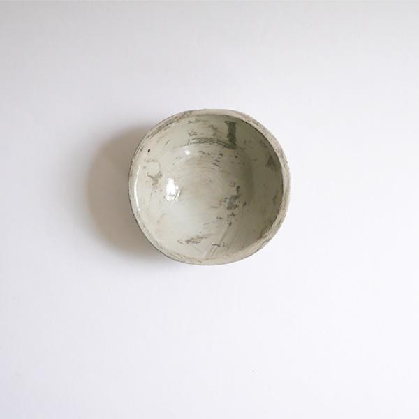 馬場勝文 刷毛目たたら豆鉢 Φ9.5cm