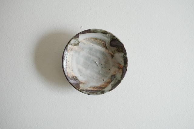 小野哲平 鉄化粧クロス小皿 Φ11cm