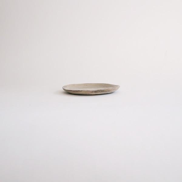 馬場勝文 刷毛目リム細豆皿 Φ10.5cm