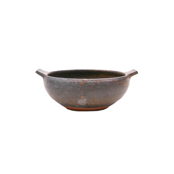 清岡幸道 耐熱茶釉グラタンボウル 小