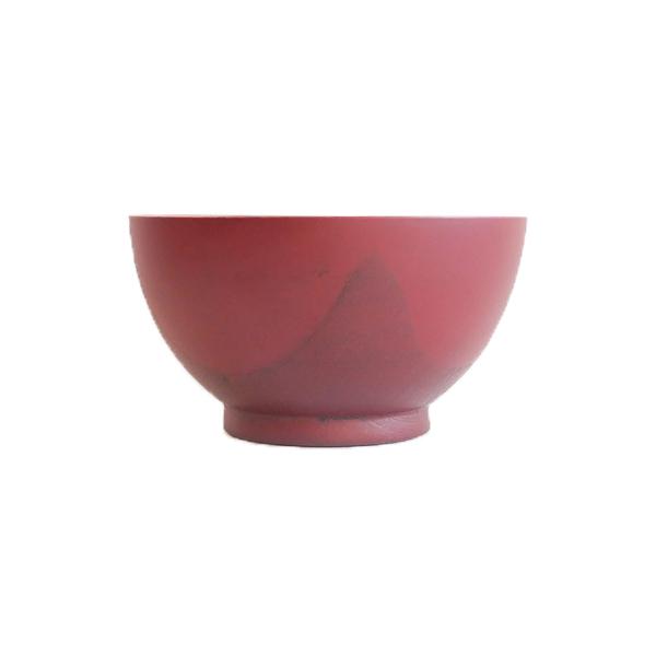 会津塗 布汁椀5寸 朱 Φ15cm