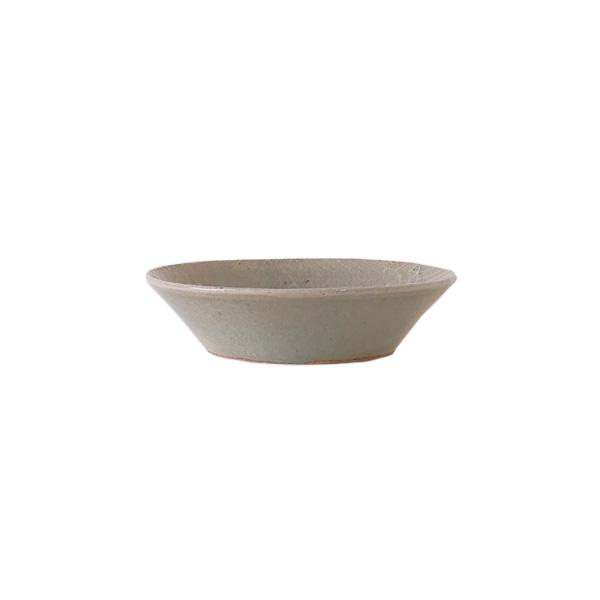 郡司庸久・慶子 型打ち皿4寸鉢  model B Φ13cm