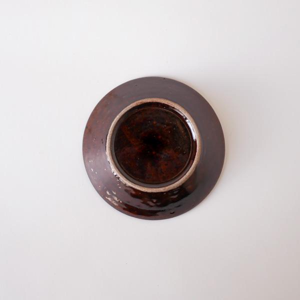 郡司庸久・慶子 型打ち皿4寸鉢  model C Φ13cm