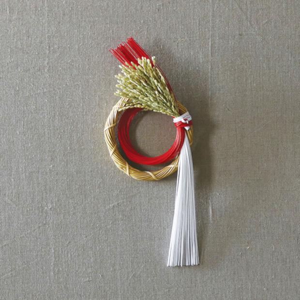 お正月飾り 水引リース model A (京都)