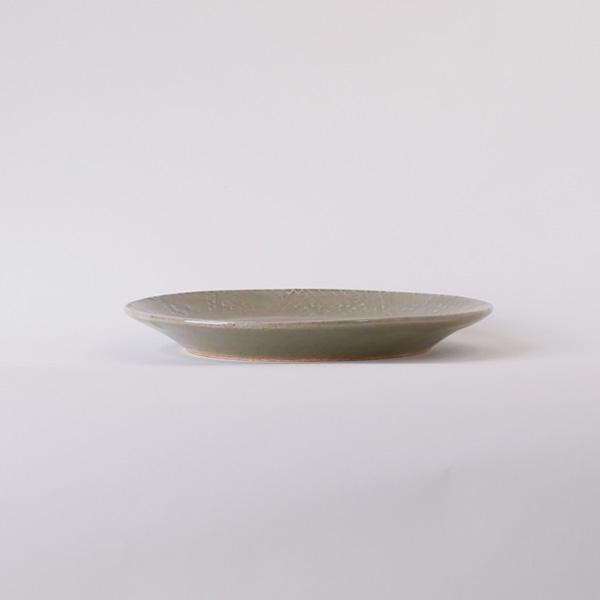 郡司庸久・慶子 型皿 幾何学模様 model B Φ18.5cm
