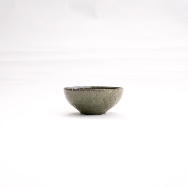 清岡幸道 青灰オリーブ小鉢 Φ10cm