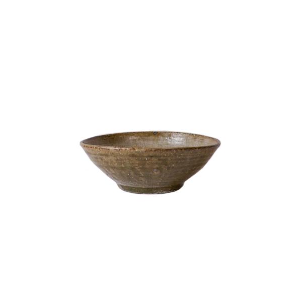 及川静香 櫛目5寸鉢 Φ15cm