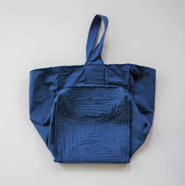 MITTAN レイヤードバッグ中  藍 送料無料