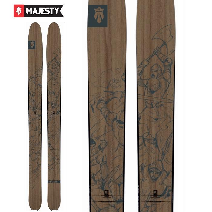 -MAJESTY マジェスティ- スキー板 単品 [MAJESTY DESTROYER] デストロイヤー 19-20モデル 送料無料