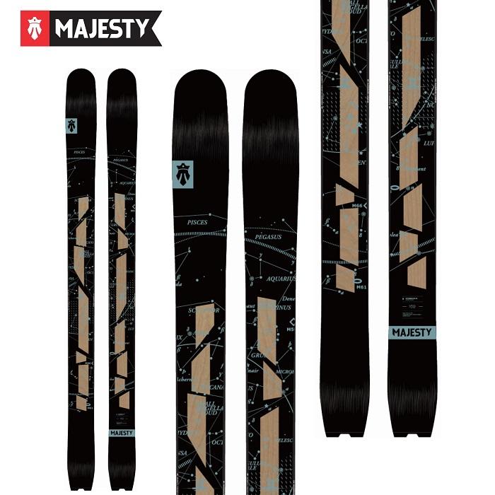 -MAJESTY マジェスティ- スキー板 単品 [MAJESTY SUPERNOVA LTD] スーパーノバLTD 19-20モデル 送料無料