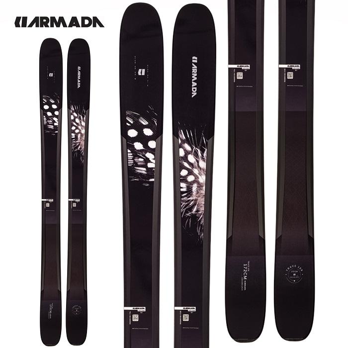 -ARMADA アルマダ- スキー板 単品 レディース [ARMADA TRACE 108] トレース108 20-21モデル 送料無料