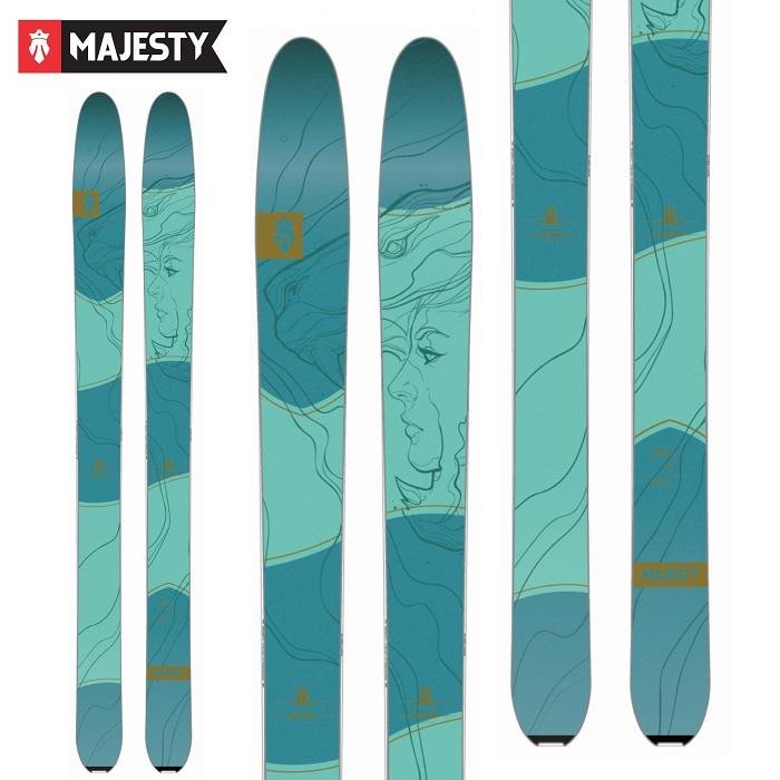 -MAJESTY マジェスティ- スキー板 単品 レディース [MAJESTY  VIXEN] ビクセン 19-20モデル 送料無料