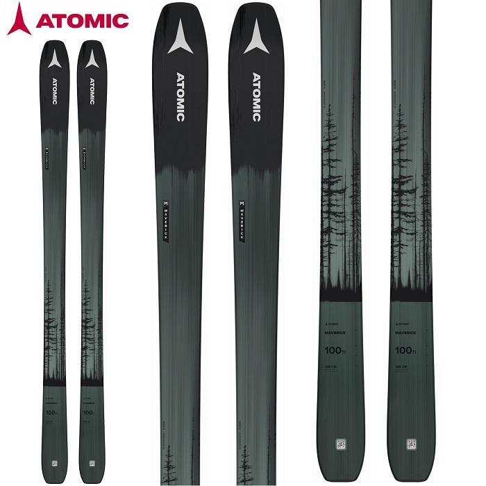 -ATOMIC アトミック- スキー板 単品  [ATOMIC MAVERICK 100 TI] マーベリック 100TI 21-22モデル 送料無料