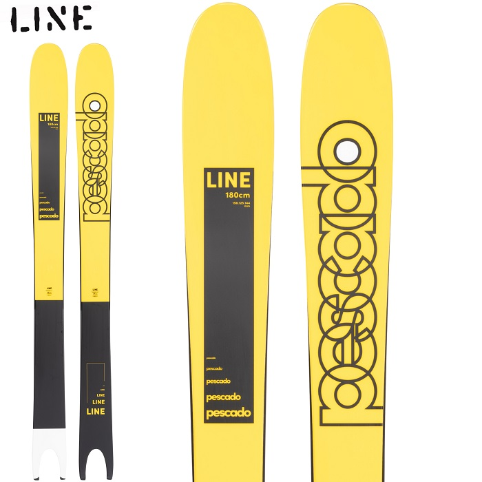 -LINE ライン- スキー板 単品 [LINE PESCADO] ペスカド 21-22モデル 送料無料