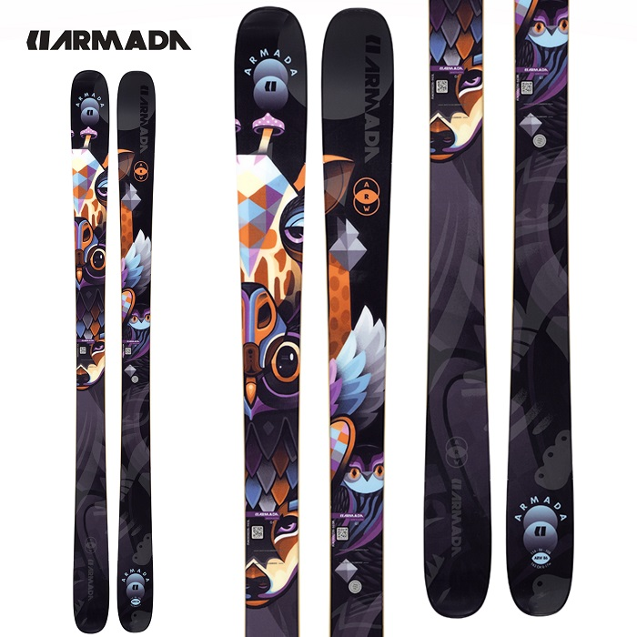 -ARMADA アルマダ- スキー板 単品 レディース [ARMADA ARW 86] エーアールダブリュ86 20-21モデル 送料無料