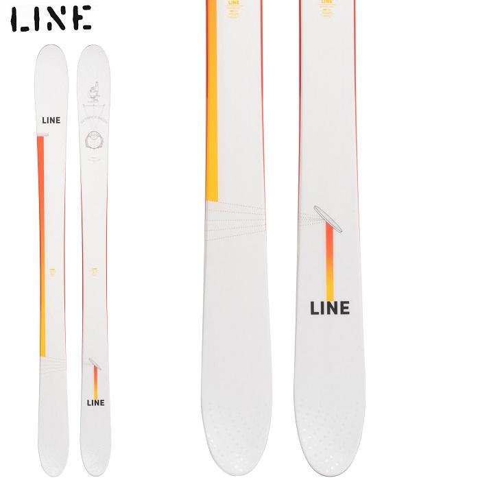 -LINE ライン- スキー板 単品 [LINE SIR FRANCIS BACON] サー フランシス ベーコン 21-22モデル 送料無料