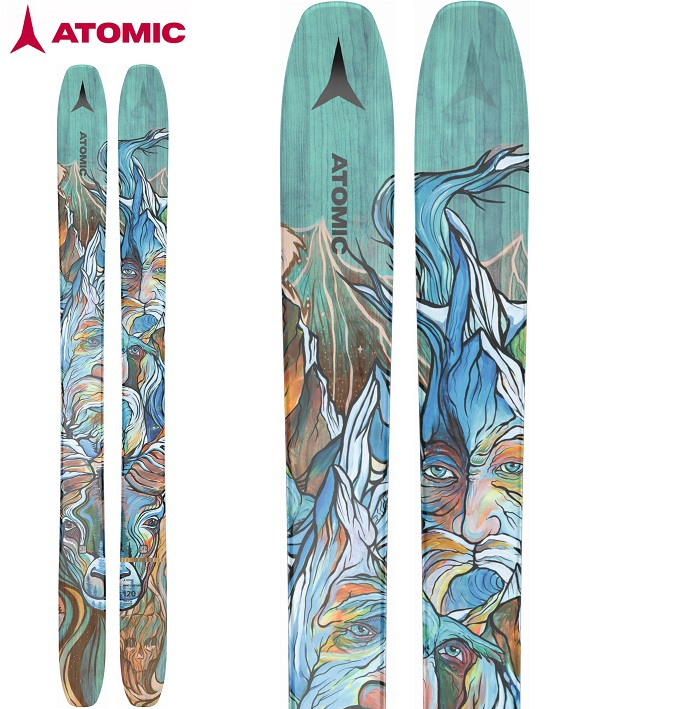 -ATOMIC アトミック- スキー板 単品  [ATMIC BENT CHETLER 120] ベントチェトラー120 21-22モデル 送料無料
