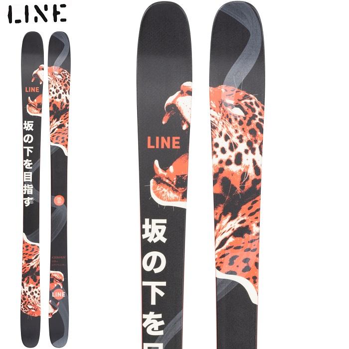 -LINE ライン- スキー板 単品 [LINE CHRONIC] クロニック 21-22モデル 送料無料