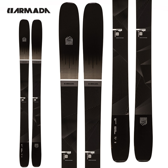 -ARMADA アルマダ- スキー板 単品 [ARMADA DECLIVITY 102 TI] デクリビィティー 102 TI 20-21モデル 送料無料