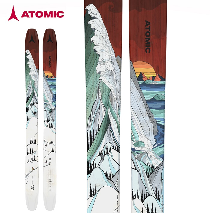 -ATOMIC アトミック- スキー板 単品  [ATMIC BENT CHETLER 120] ベントチェトラー120 20-21モデル 送料無料