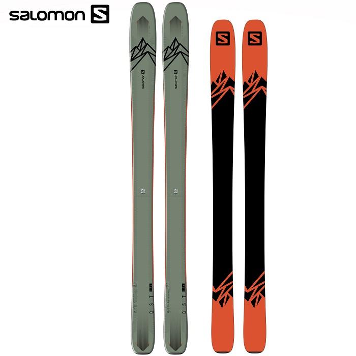 -SALOMON サロモン- スキー板 単品 [SALOMON QST 106] キューエスティ— 106 20-21モデル 送料無料