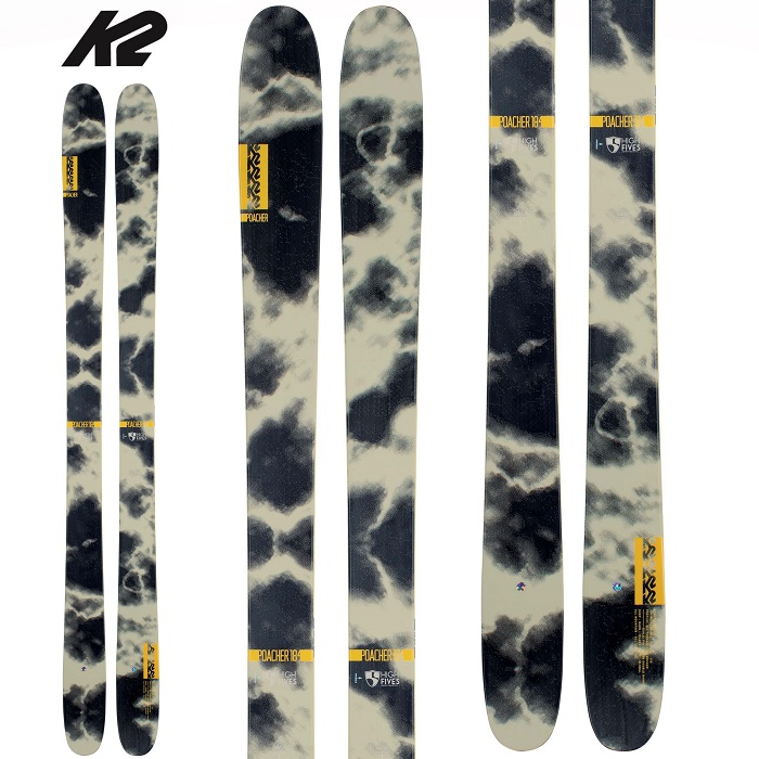 -K2 ケーツー- スキー板 単品 [K2  POAHCHER] ポーチャー 20-21モデル 送料無料