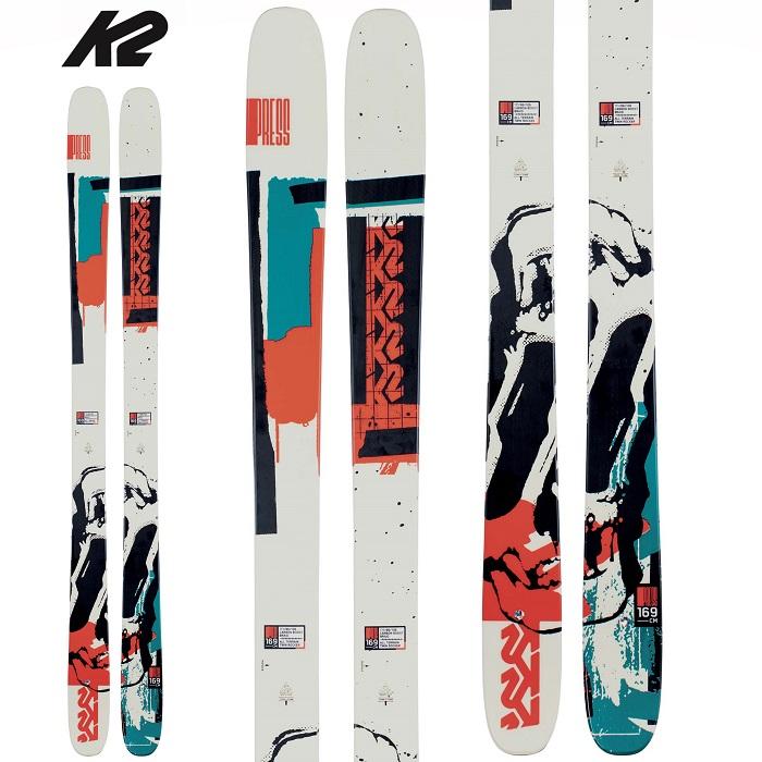 -K2 ケーツー- スキー板 単品 [K2  PRESS] プレス 20-21モデル 送料無料