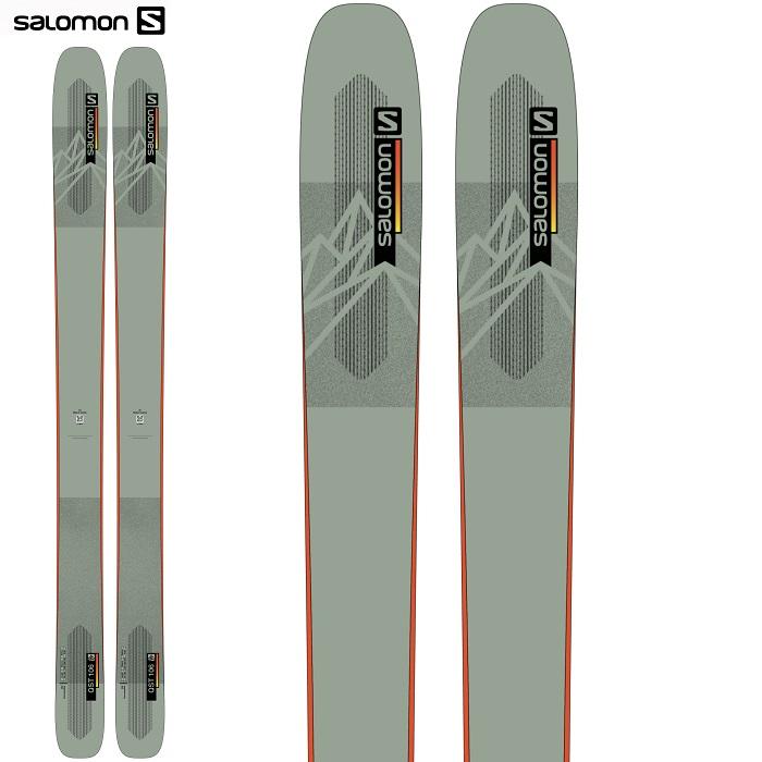 -SALOMON サロモン- スキー板 単品 [SALOMON QST 106] キューエスティ— 106 21-22モデル 送料無料