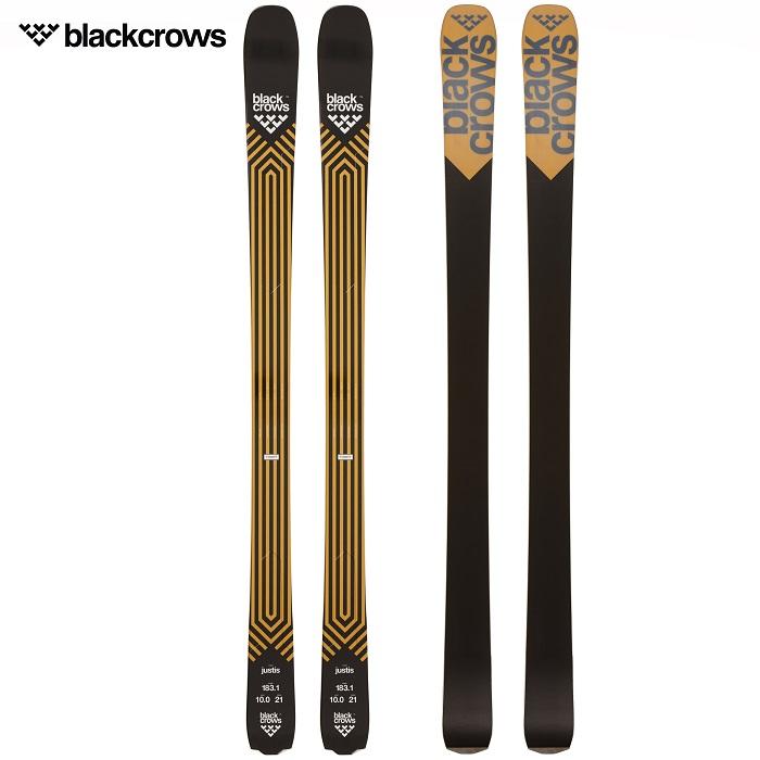 -BLACKCROWS ブラッククロウズ- スキー板 単品 [BLACKCROWS JUSTIS] ジャスティス 20-21モデル 送料無料