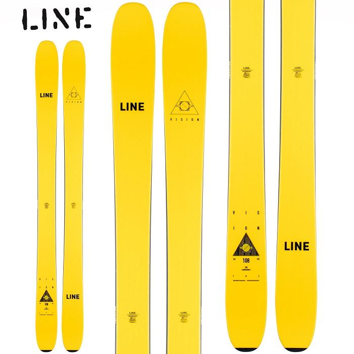 -LINE ライン- スキー板 単品 [LINE VISION 108] ビジョン108 20-21モデル 送料無料