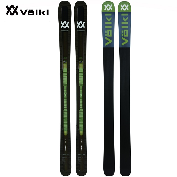 -VOLKL フォルクル- スキー板 単品 [VOLKL MANTRA 102] マントラ102 19-20モデル 送料無料