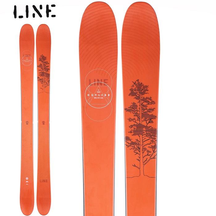 -LINE ライン- スキー板 単品 [LINE OUTLINE] アウトライン 20-21モデル 送料無料