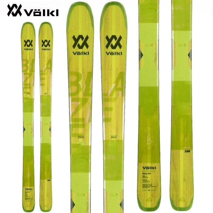 -VOLKL フォルクル- スキー板 単品 [VOLKL 100 EIGHT] 100 エイト 19-20モデル 送料無料