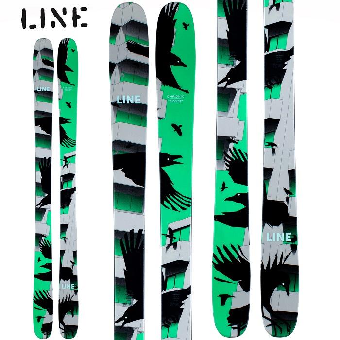 -LINE ライン- スキー板 単品 [LINE CHRONIC] クロニック 20-21モデル 送料無料