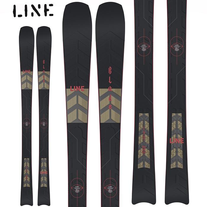 -LINE ライン- スキー板 ビンディングセット [LINE BLADE 169cm+ MARKER SQUIRE 11 ID]  ブレード 20-21モデル 送料無料