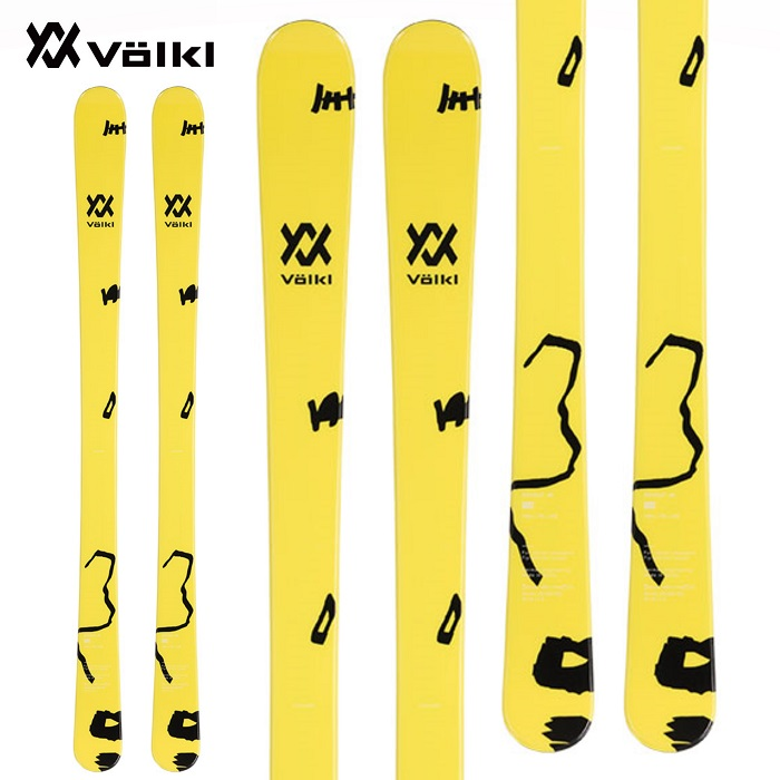 -VOLKL フォルクル- スキー板 単品 ジュニア [VOLKL REVOLT JR] リボルトジュニア 19-20モデル