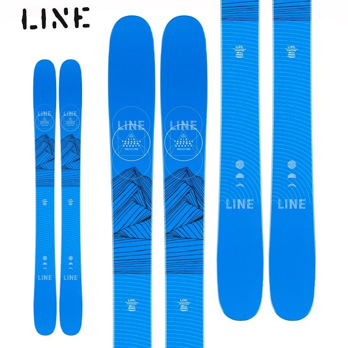 -LINE ライン- スキー板 単品 ジュニア [LINE BACON SHORTY] ベーコンショーティー 20-21モデル 送料無料