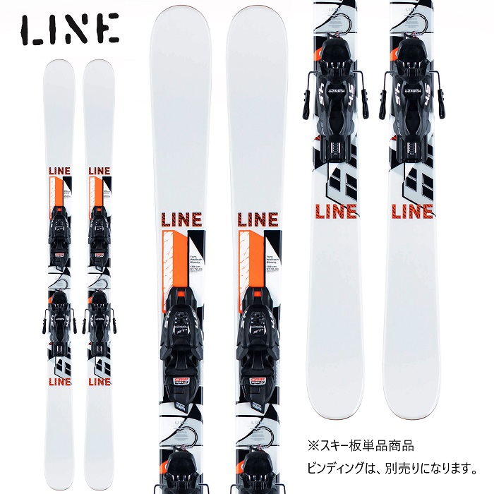 -LINE ライン- スキー板 単品 ジュニア [LINE TW SHORTY] トムウォリッシュショーティー 20-21モデル 送料無料