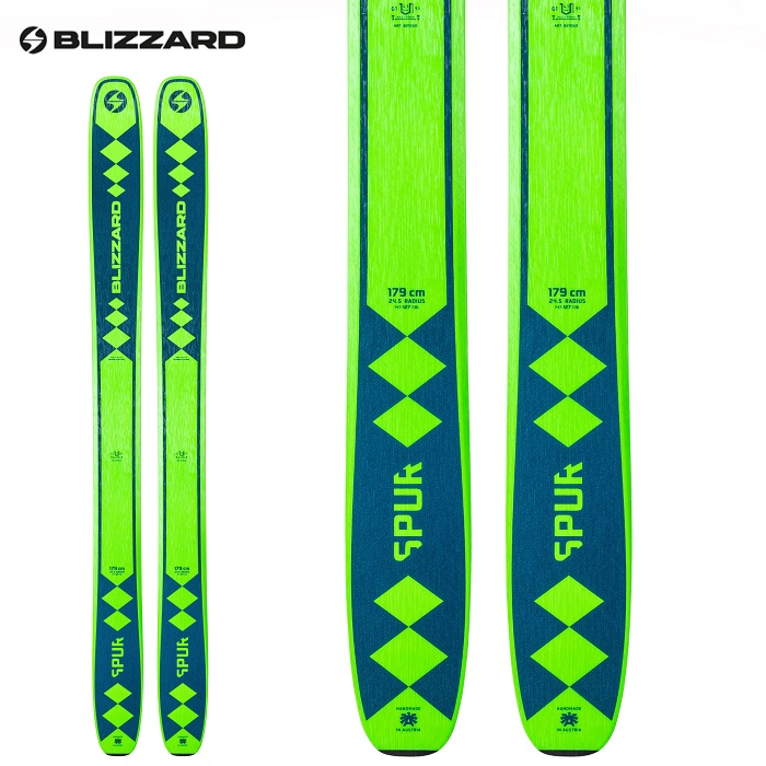 -BLIZZARD ブリザード- スキー板 単品 [BLIZZARD SPUR ] シュプール 20-21モデル 送料無料