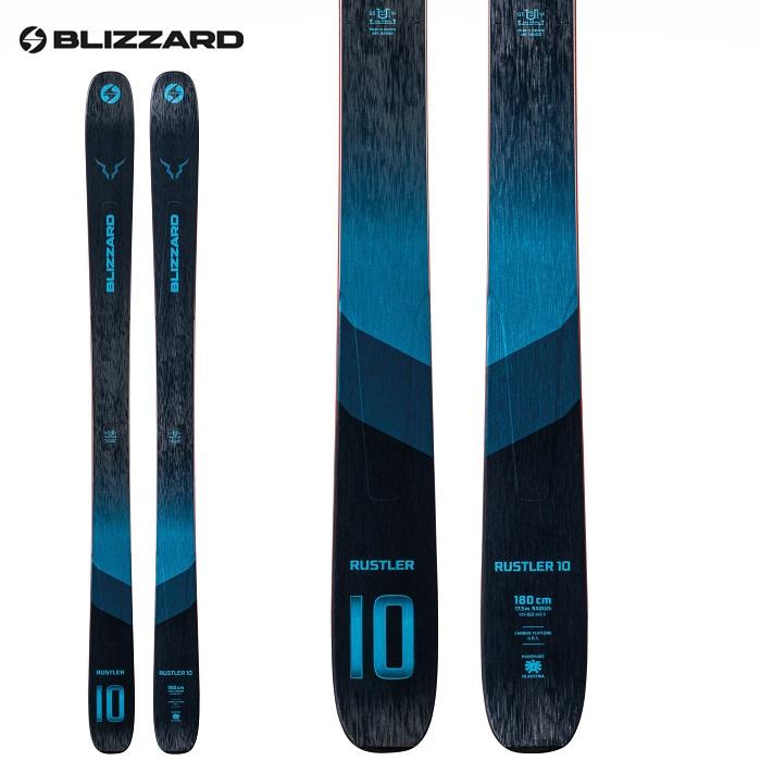 -BLIZZARD ブリザード- スキー板 単品 [BLIZZARD RUSTLER 10] ラスラー10 21-22モデル 送料無料