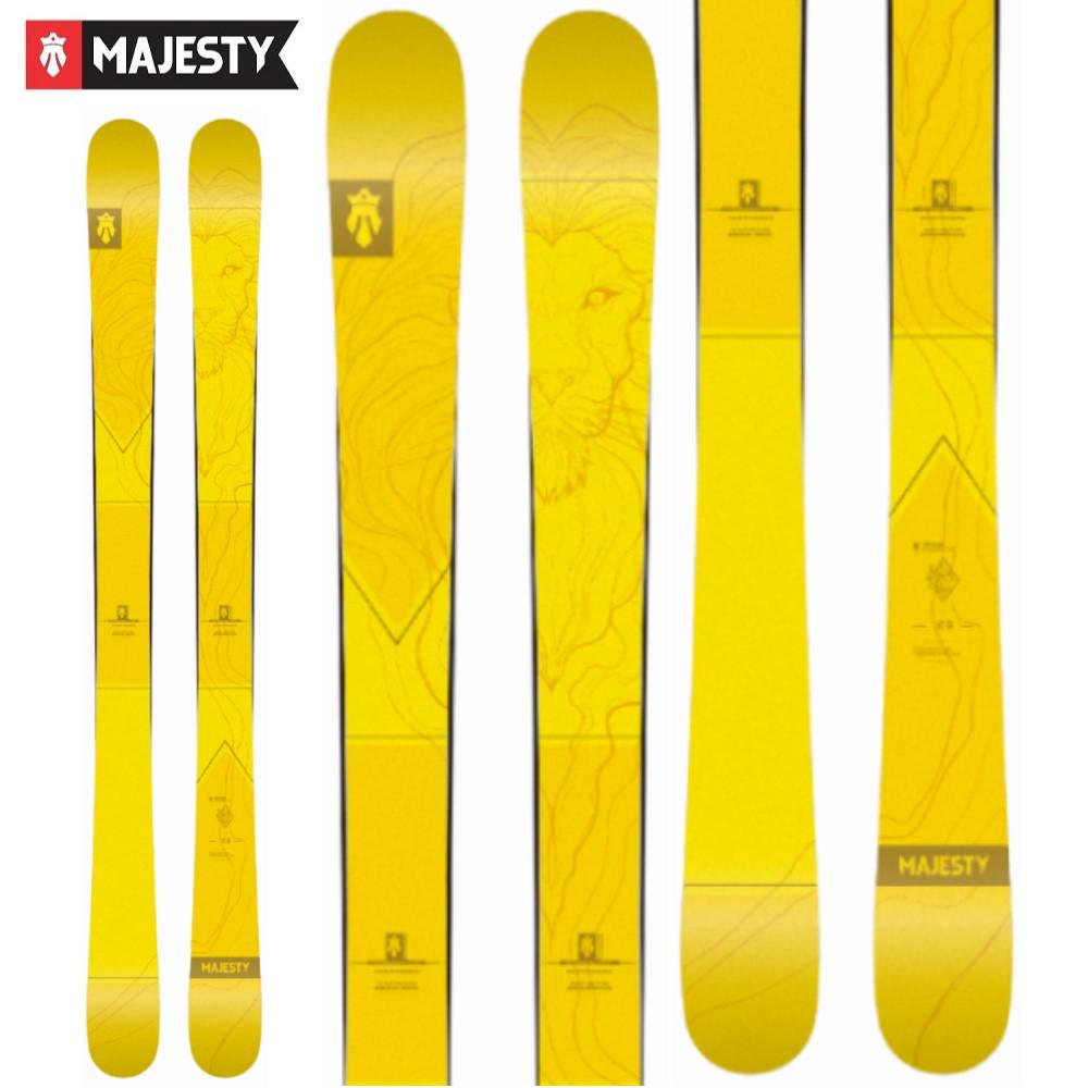 -MAJESTY マジェスティ- スキー板 単品 [MAJESTY VANDAL] バンダル 20-21モデル 送料無料
