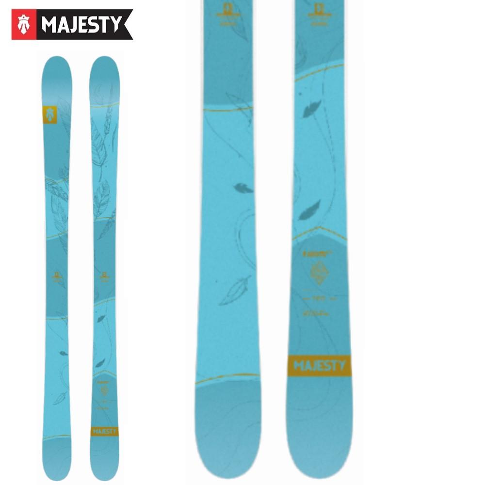 -MAJESTY マジェスティ- スキー板 単品 レディース [MAJESTY LOCAL BEAUTY] ローカルビューティー 20-21モデル 送料無料