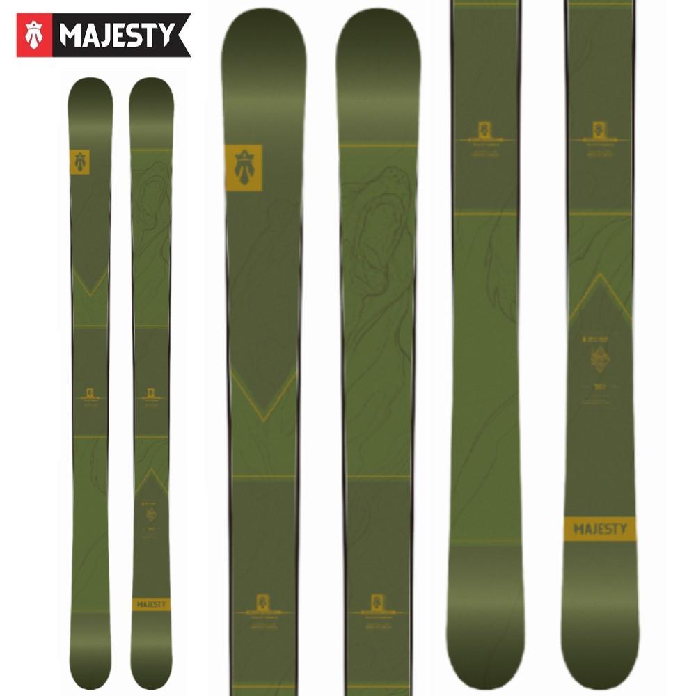 -MAJESTY マジェスティ- スキー板 単品 [MAJESTY DIRTY BEAR] ダーティーベアー 20-21モデル 送料無料