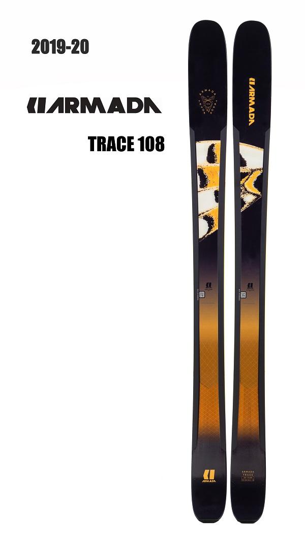 -ARMADA アルマダ- スキー板 単品 レディース [ARMADA TRACE 108] トレース108 19-20モデル 送料無料