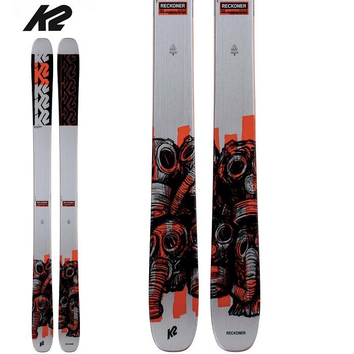 -K2 ケーツー- スキー板 単品 [K2 RECKONER 102] リコナー102 20-21モデル 送料無料
