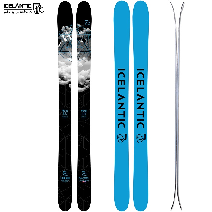 -ICELANTIC アイスランティック- スキー板 単品  [ICELANTIC SABA PRO 107] サバ プロ107 21-22モデル 送料無料