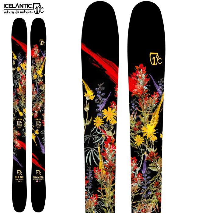 -ICELANTIC アイスランティック- スキー板 単品  レディース [ICELANTIC NIA PRO 105] ニアプロ105 21-22モデル 送料無料
