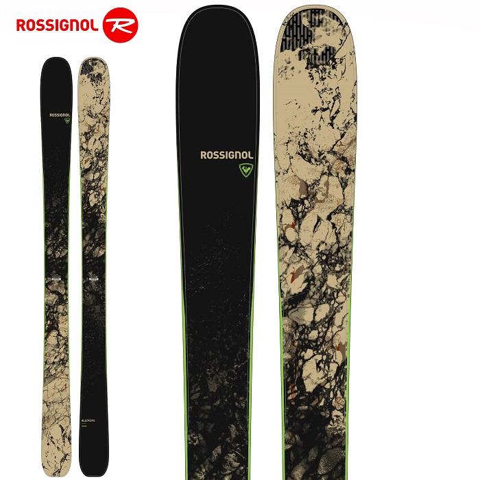 -ROSSIGNOL ロシニョール- スキー板 単品  [ROSSIGNOL BLACKOPS SENDER OPEN] ブラックオプス センダー  オープン 21-22モデル 送料無料