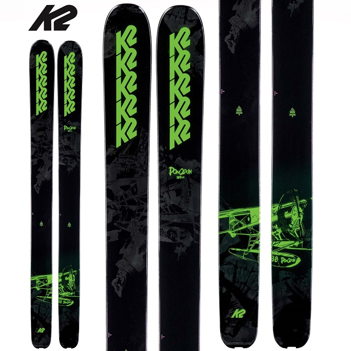 -K2 ケーツー- スキー板 単品 [K2 PON200N] ポンツーン 21-22モデル 送料無料